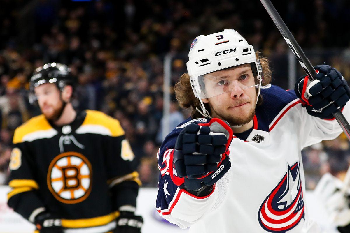 Columbus Blue Jackets v Boston Bruins - Game Two