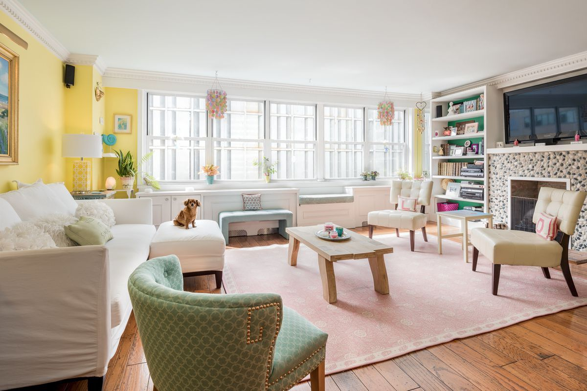Apartment Building Going Co Op $1m lenox hill co-op is a dreamy pastel getaway - curbed ny