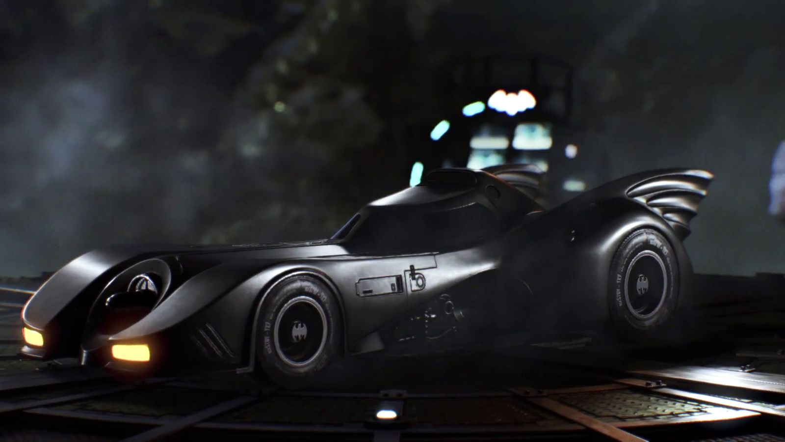 Batman Arkham Knight Gets Dark Knights Tumbler Next Month 1989 Batmobile Today