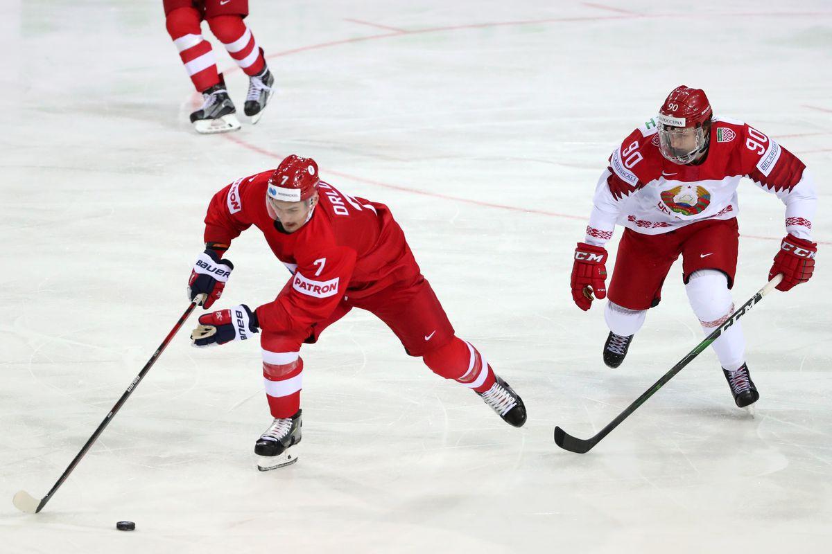 2021 IIHF World Championship, Group A: Russia vs Belarus