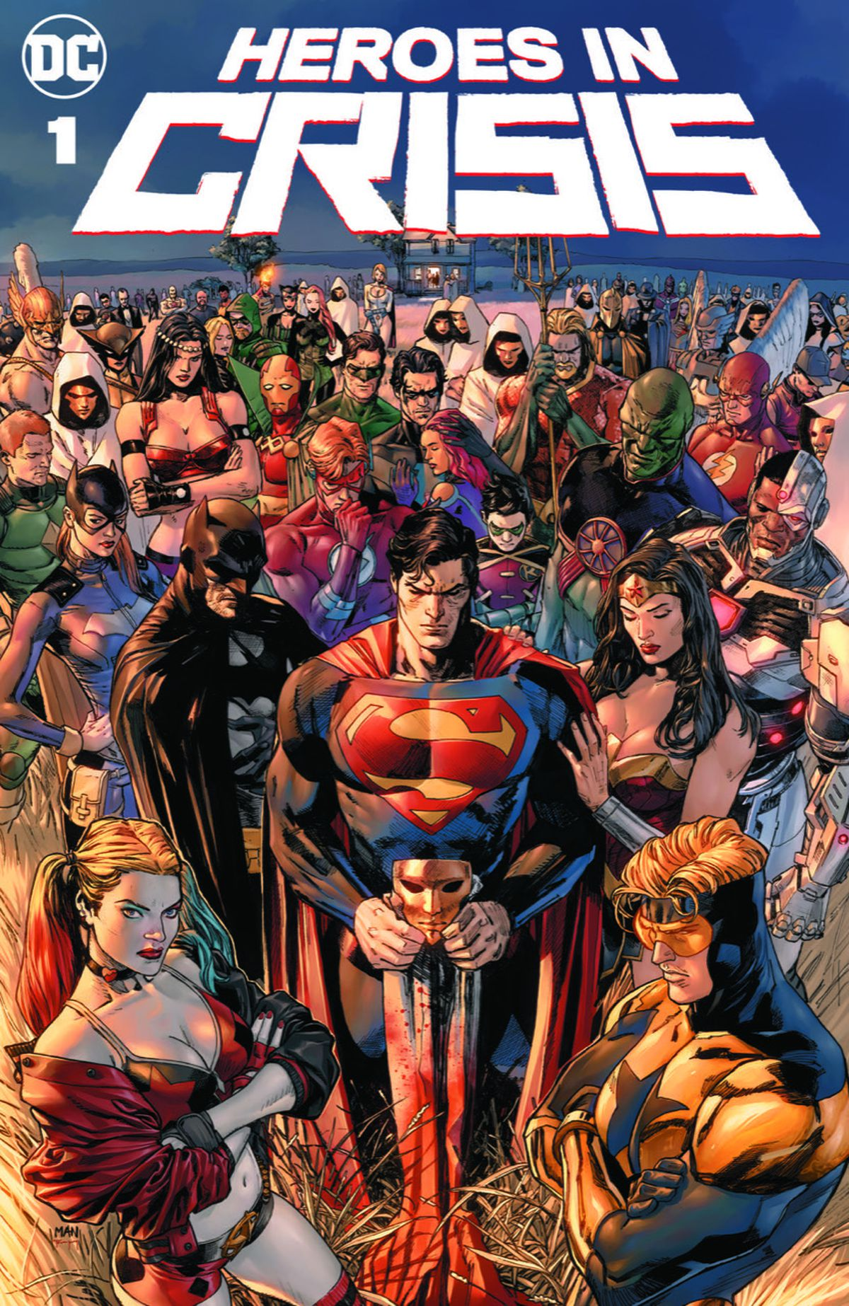 Heroes in Crisis #1, DC Comics (2018).