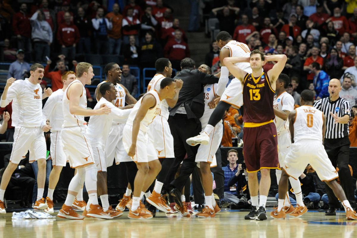Former Sun Devil Jordan Bachynski #13 after being eliminated in March Madness by UT