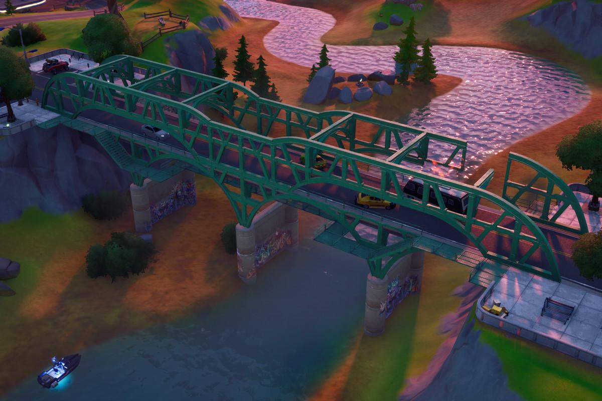 Fortnite Chapter 2's Green Bridge