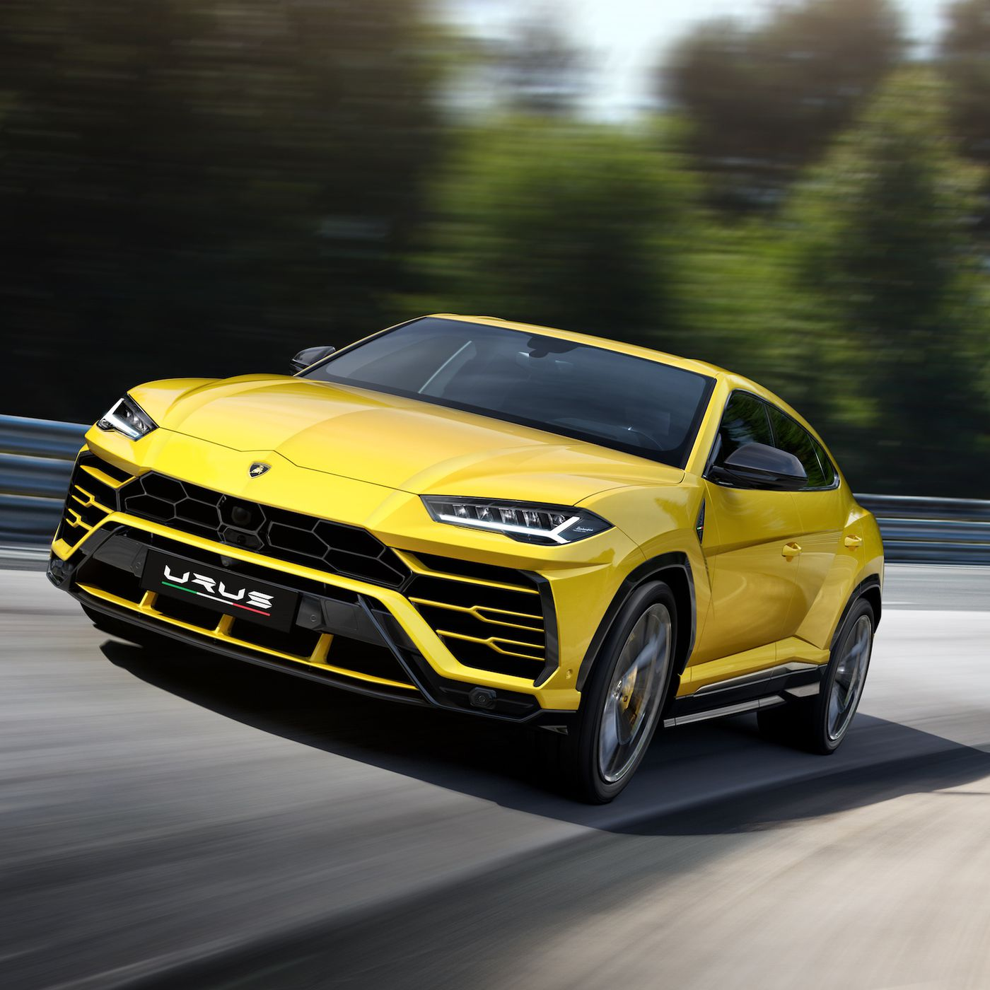 The Lamborghini Urus Is The Latest 200 000 Suv The Verge