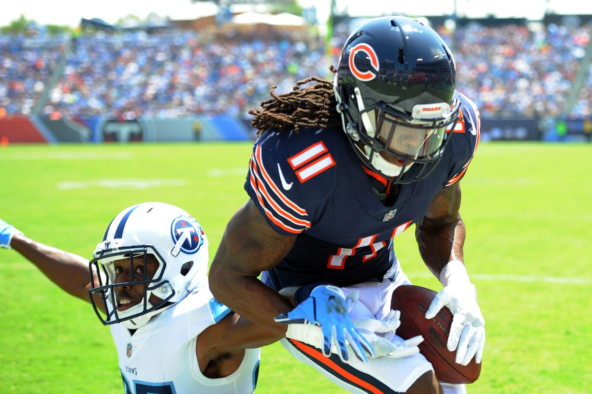 196f5f65f Pre-Camp Fun  Projecting the final 2018 Chicago Bears offensive depth chart