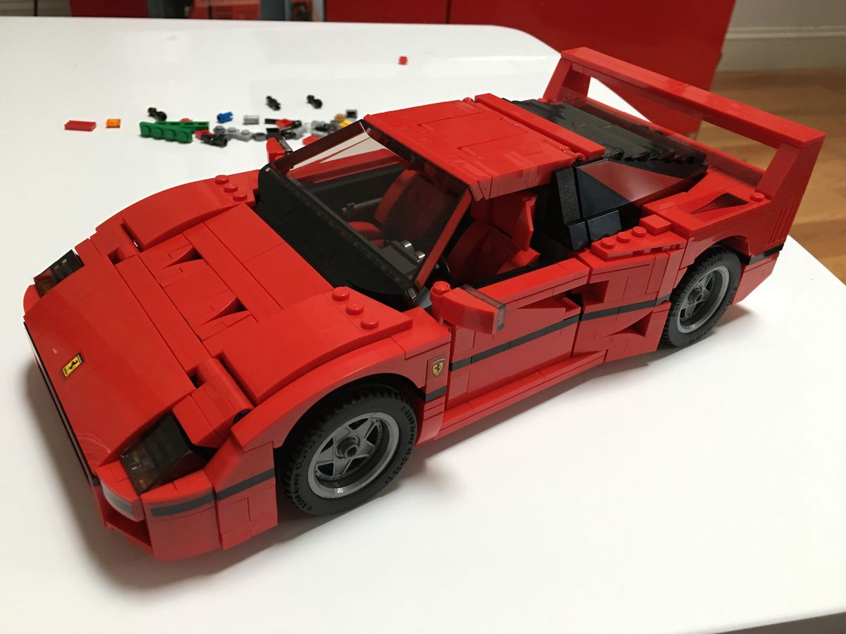 I Built A Ferrari F40 Lego Set And No I Will Not Apologize