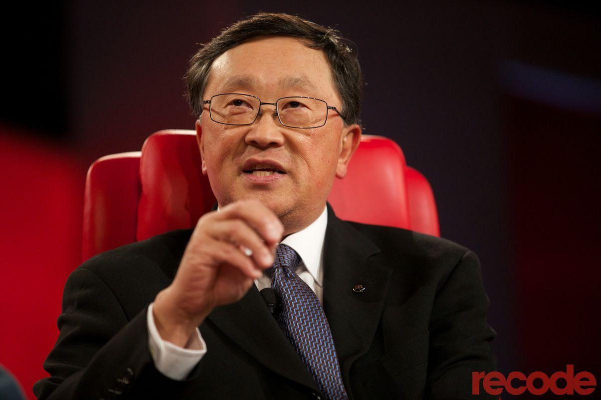 Full transcript: BlackBerry CEO John Chen on Recode Decode