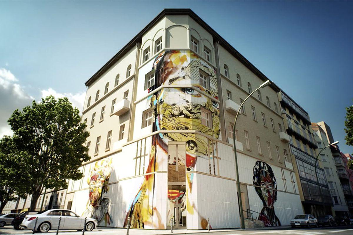 Berlin opens a street art museum - Curbed