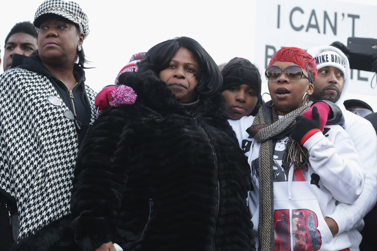 The mothers of Trayvon Martin, Tamir Rice, and Michael Brown join together for the Justice for All rally in Washington, DC.
