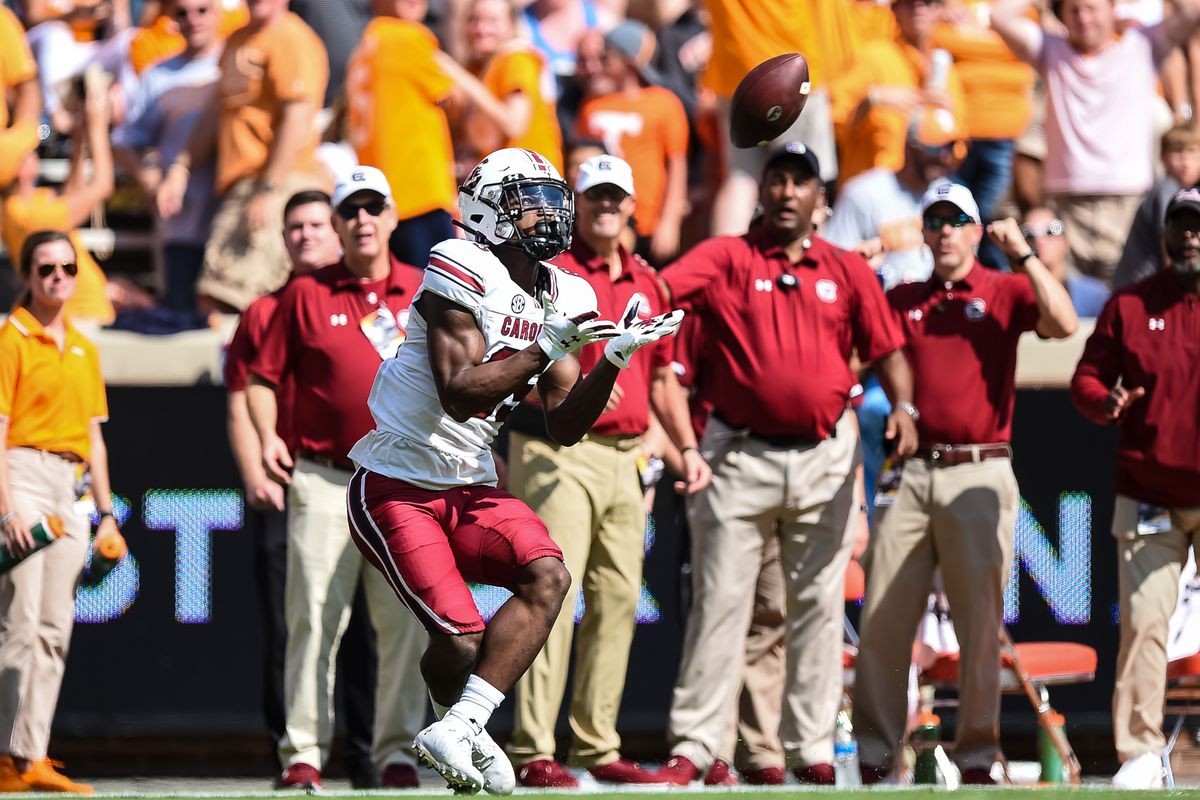 COLLEGE FOOTBALL: OCT 09 South Carolina at Tennessee