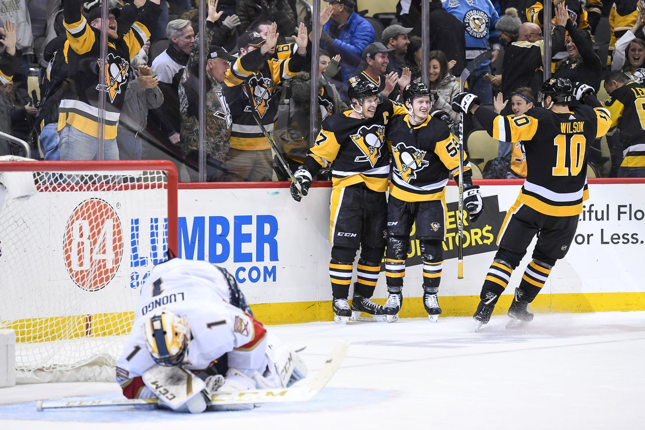 NHL: MAR 05 Panthers at Penguins