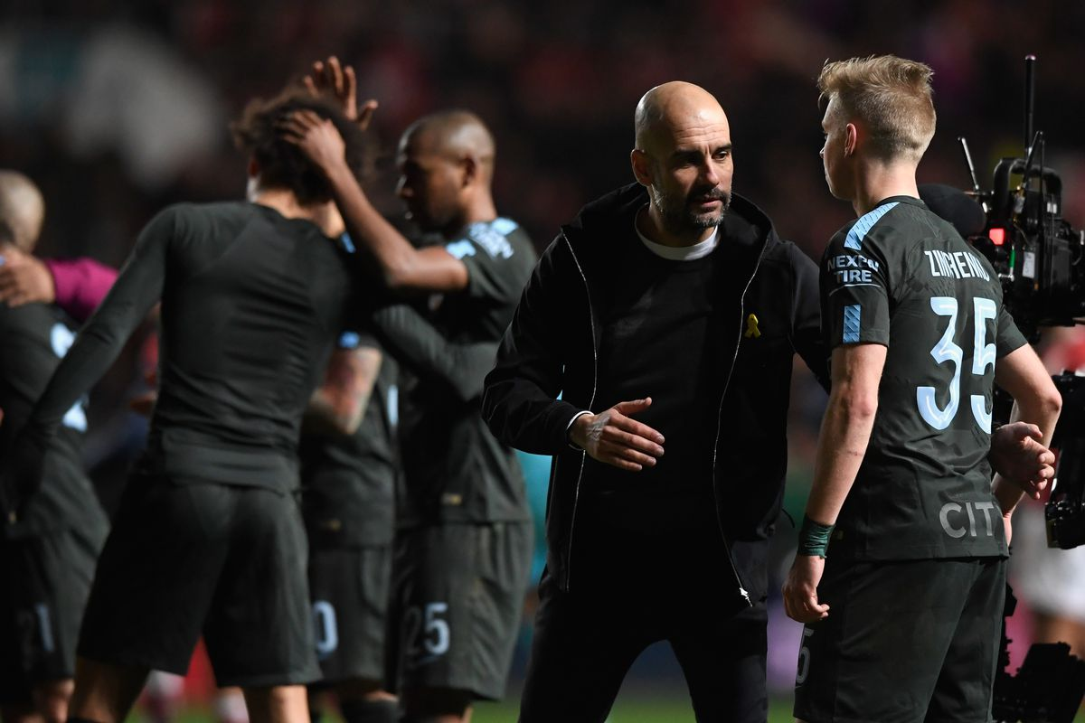 Bristol City v Manchester City - Carabao Cup Semi-Final: Second Leg