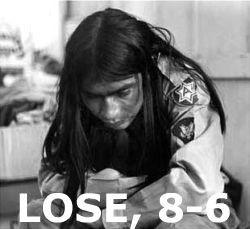 LOSE, 8-6