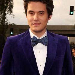 John Mayer chose velvet.