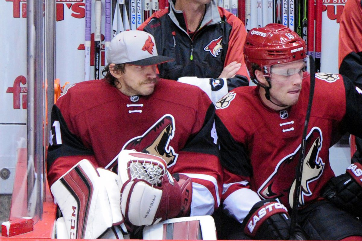 Mike Smith couldn't even afford a real hat