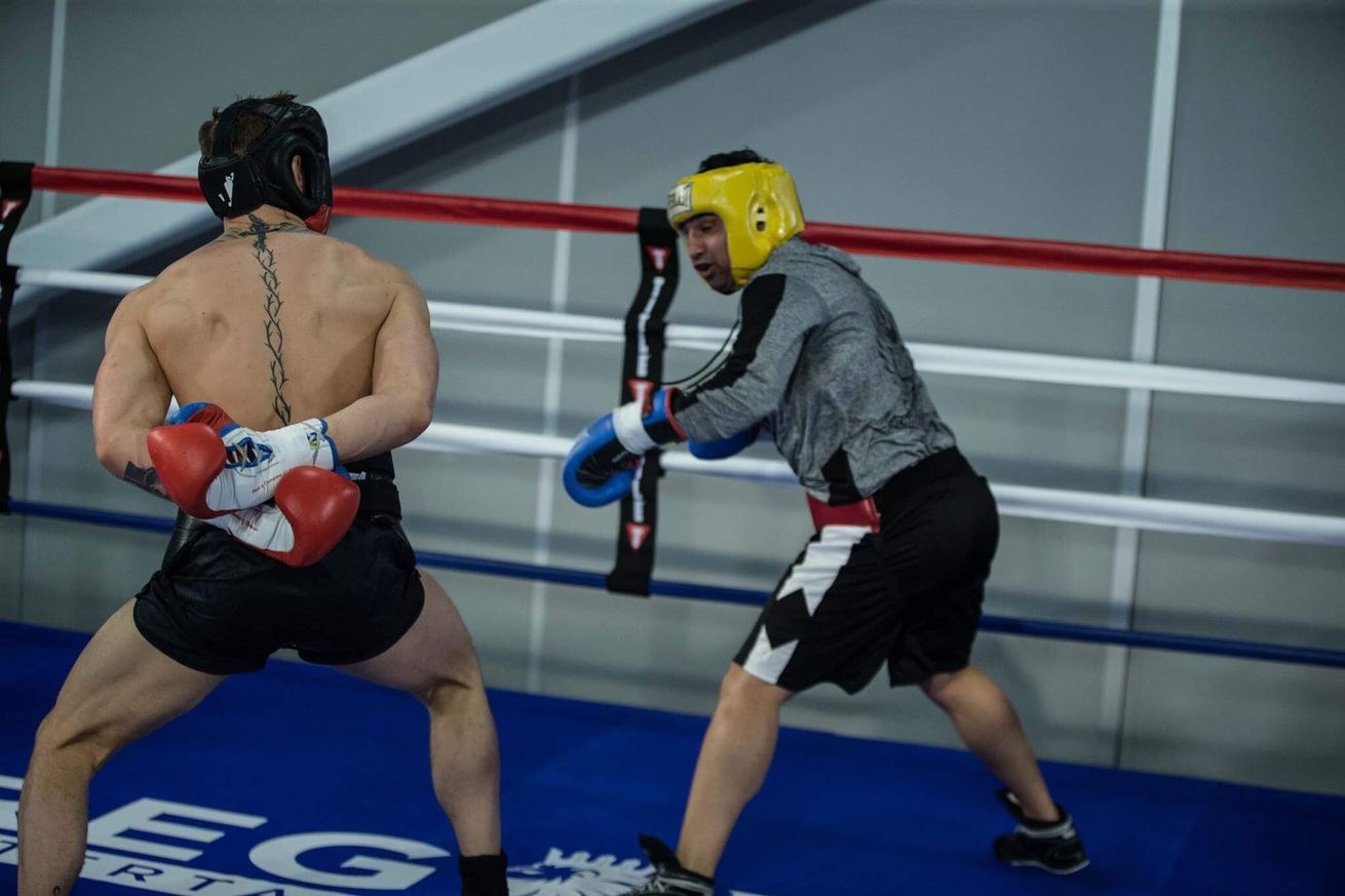 community news, Paulie Malignaggi describes Conor McGregors punching power as above average after sparring
