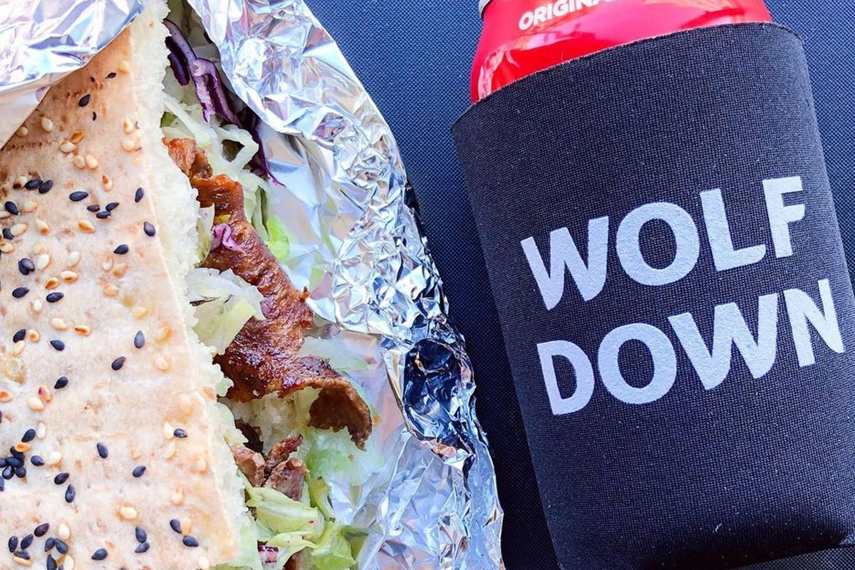 A soda and Berlin-inspired beef, flatbread döner, on the menu headed to Wolf Down later this month.