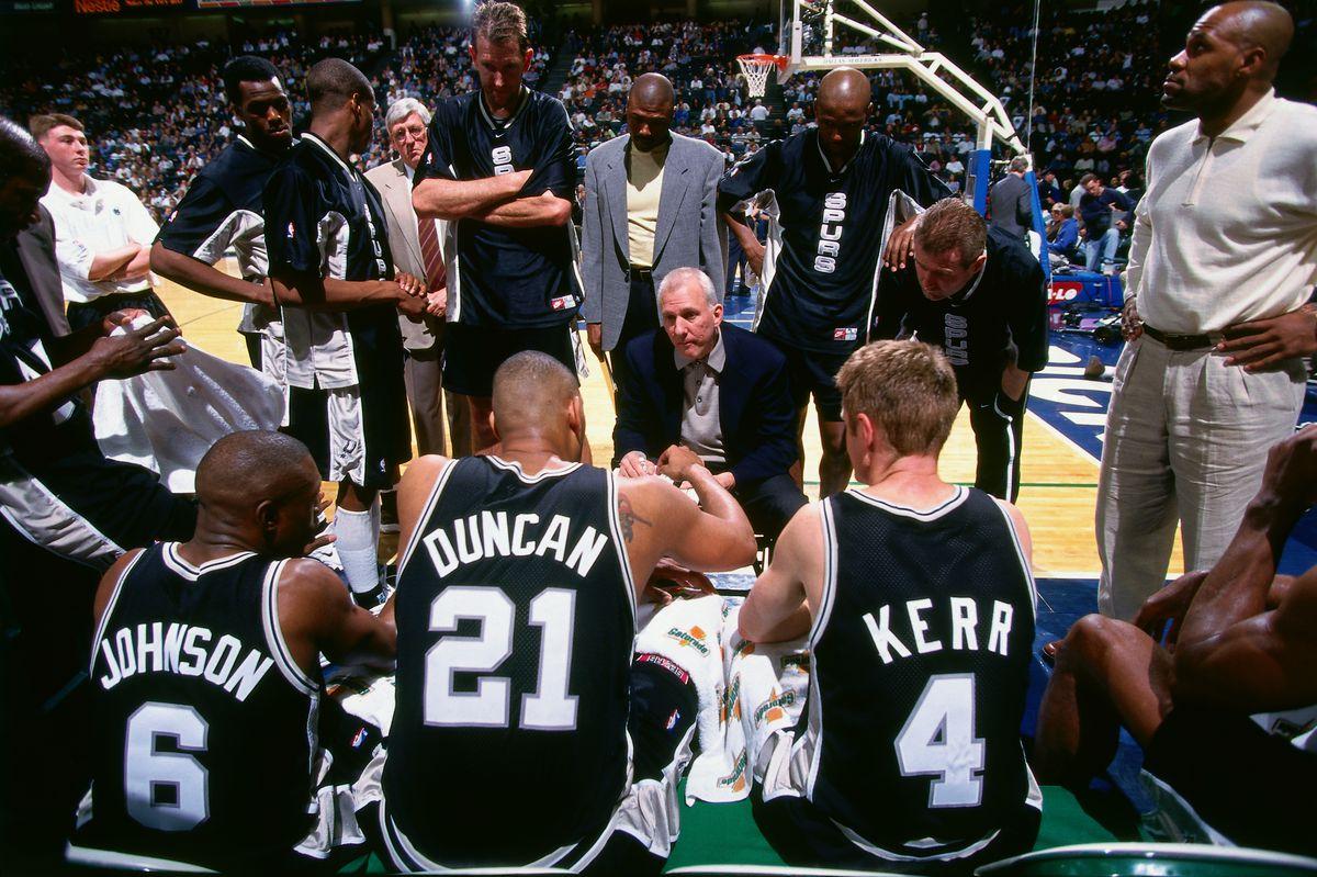 San Antonio Spurs:Steve Kerr and Gregg Popovich