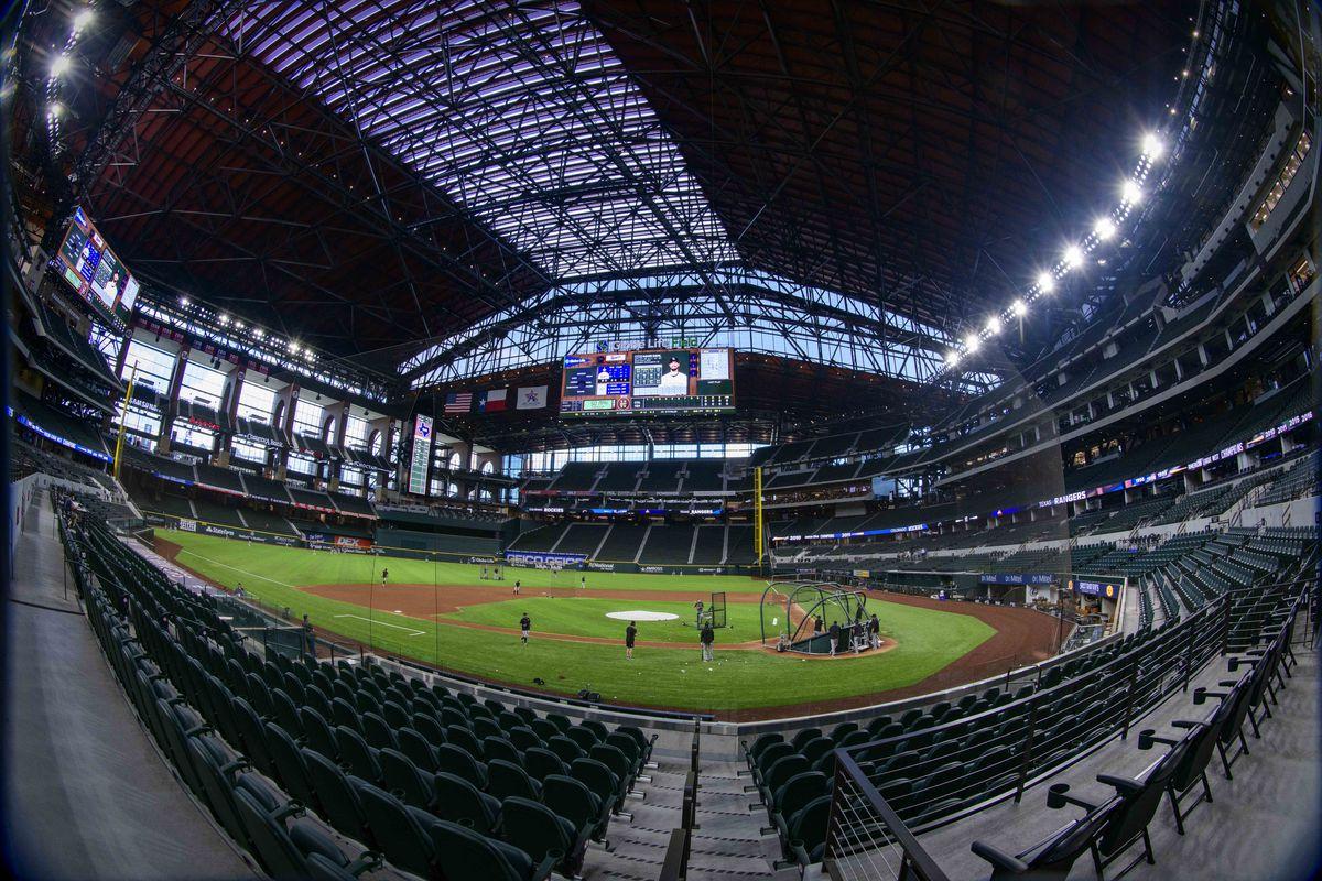 MLB: Exhibition-Colorado Rockies at Texas Rangers