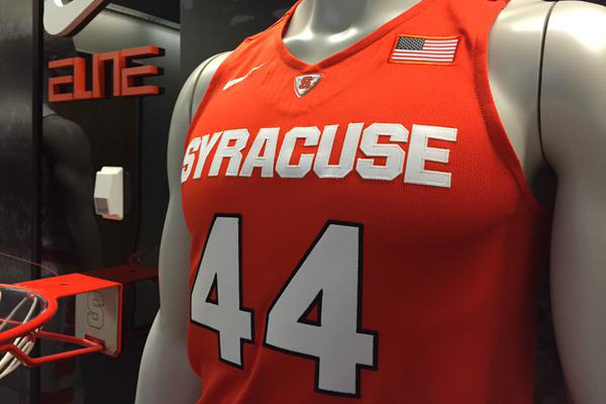 cheap for discount b6e7d 59181 Syracuse Basketball Debuts New ORANGE Road Jerseys - Troy ...