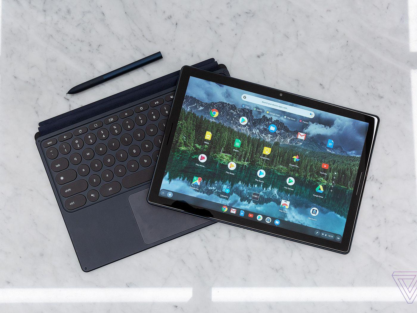 Sensational The Pixel Slate First Look At Googles New Tablet The Verge Beutiful Home Inspiration Semekurdistantinfo