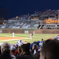 7:43 p.m. Right field -