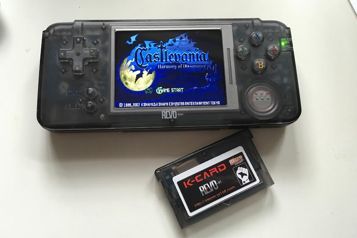 Dive back into your GBA collection with the $69 99 REVO K101
