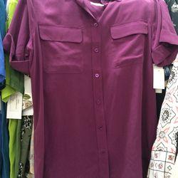 Equipment blouse, $50