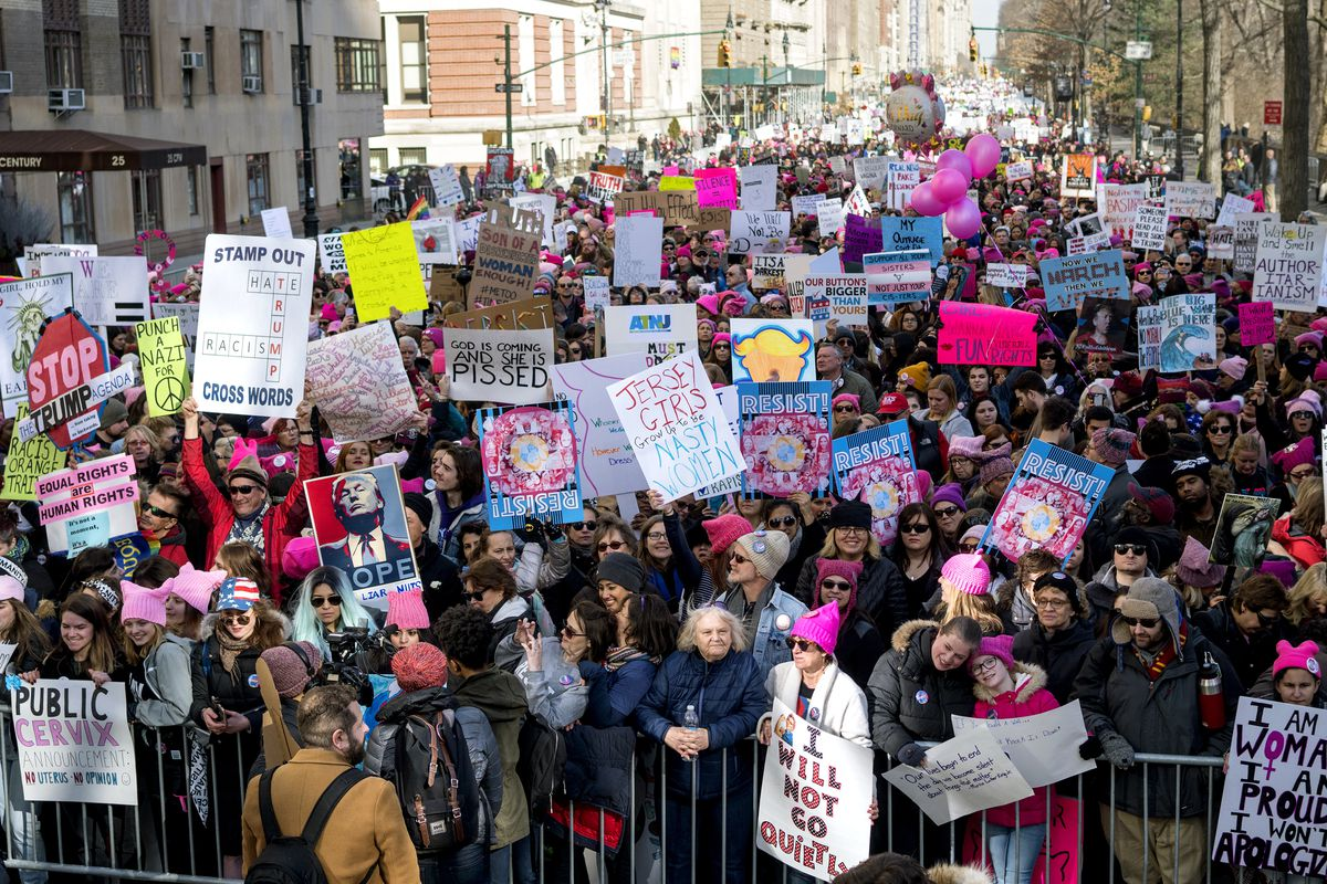 NYC Women's March 2018