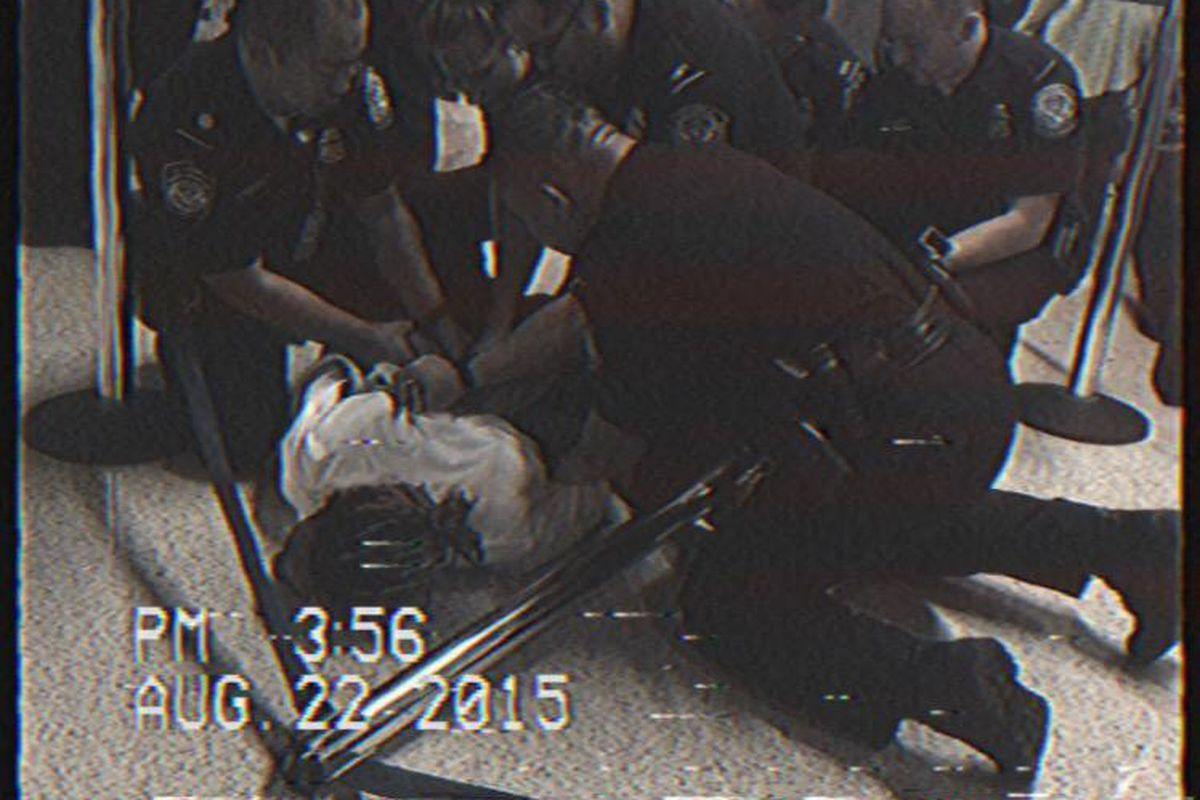 Wiz Khalifa forced to the floor and handcuffed for riding a ...