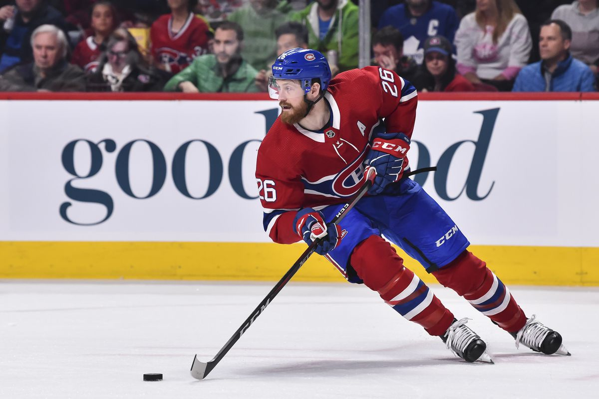 Jeff Petry Played A Vital Role For The Canadiens Eyes On The Prize