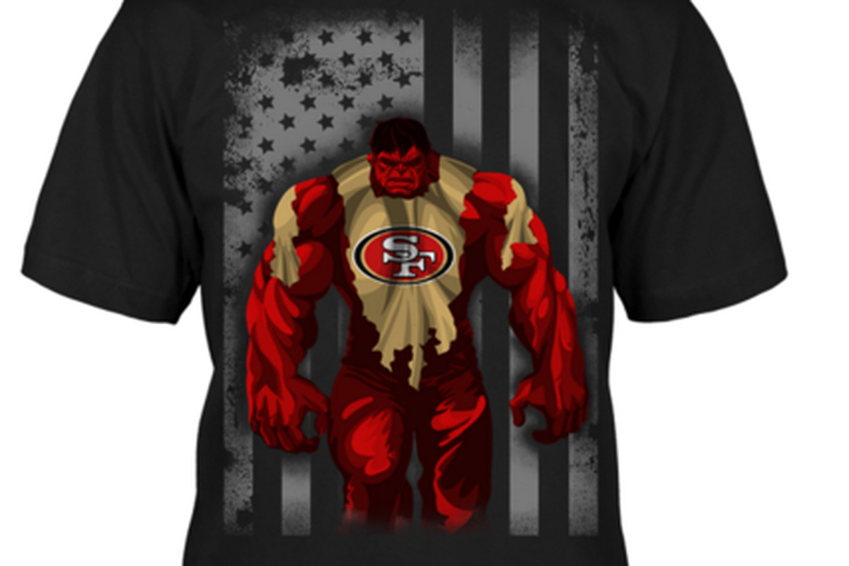 Interesting 49ers superhero t-shirts on sale through Monday - Niners ... 327ab98a5ab1
