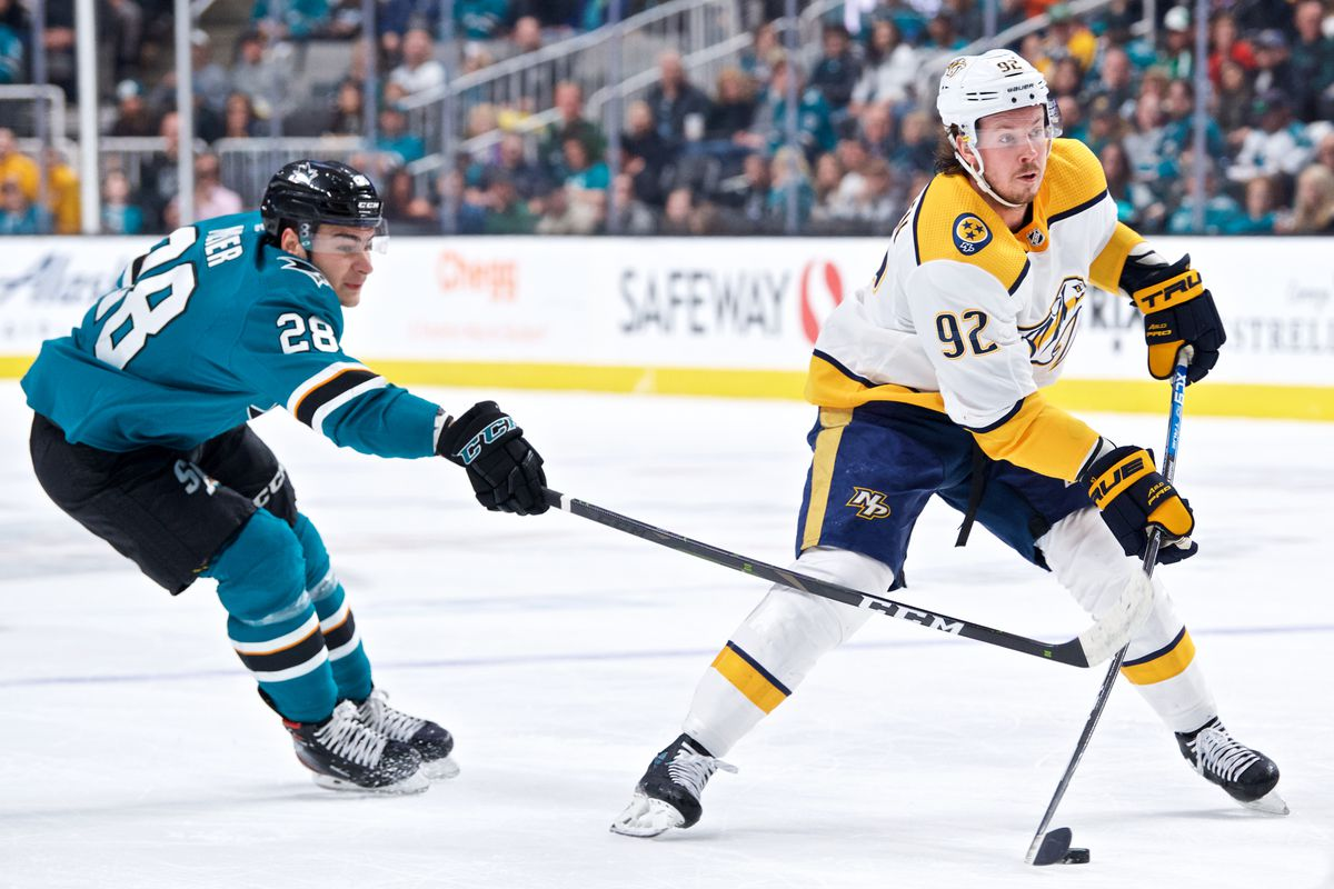 NHL: MAR 16 Predators at Sharks
