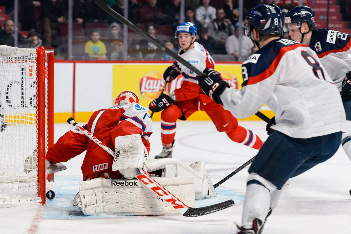 2015 IIHF World Junior Championship - Quarterfinal - Czech Republic v Slovakia