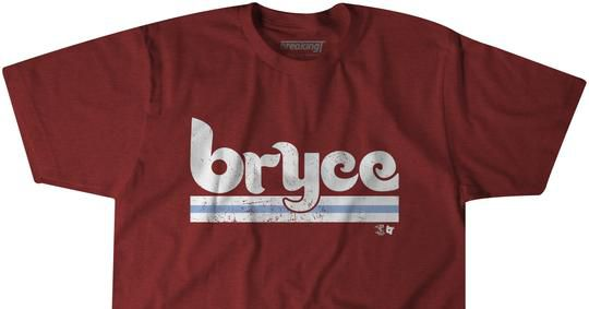 pretty nice e8333 d9b2f Phillies sign Bryce Harper, and you can celebrate with new ...