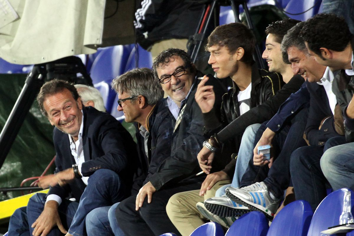 Is Massimo laughing at us? Maybe. Maybe not.
