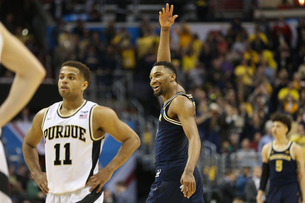 NCAA Basketball: Big Ten Tournament-Michigan vs Purdue