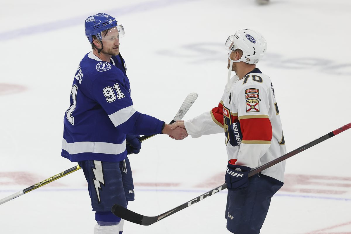NHL: MAY 26 Stanley Cup Playoffs First Round - Panthers at Lightning