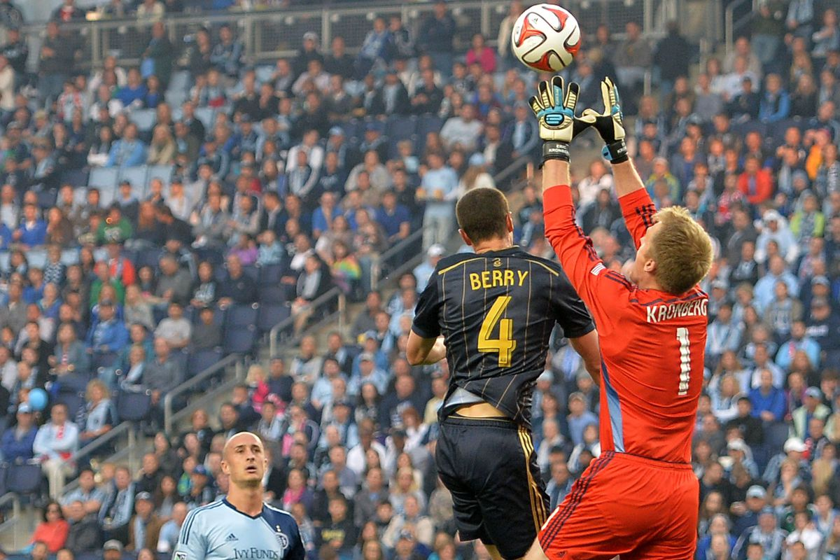 Kronberg got the start and did well to keep SKC in the match