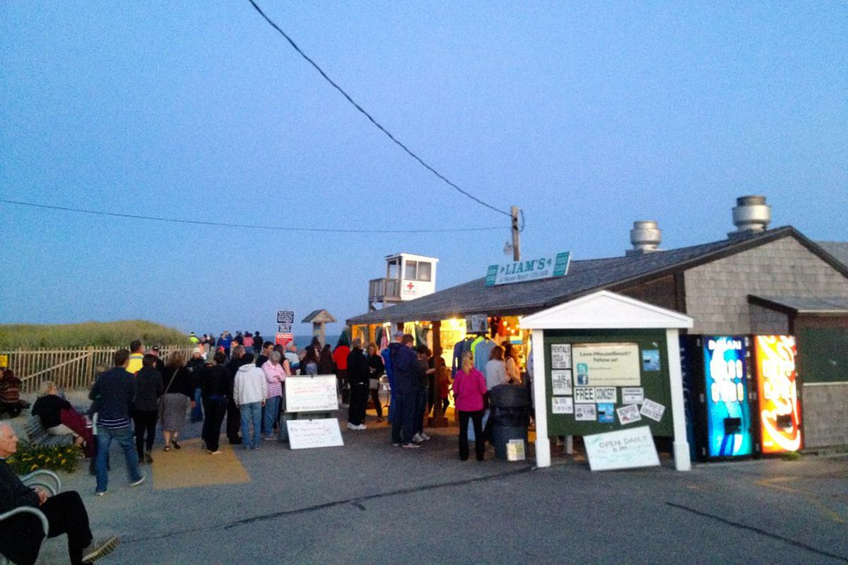 Liam's, a Nauset Beach mainstay, could soon be demolished by the town —or the sea