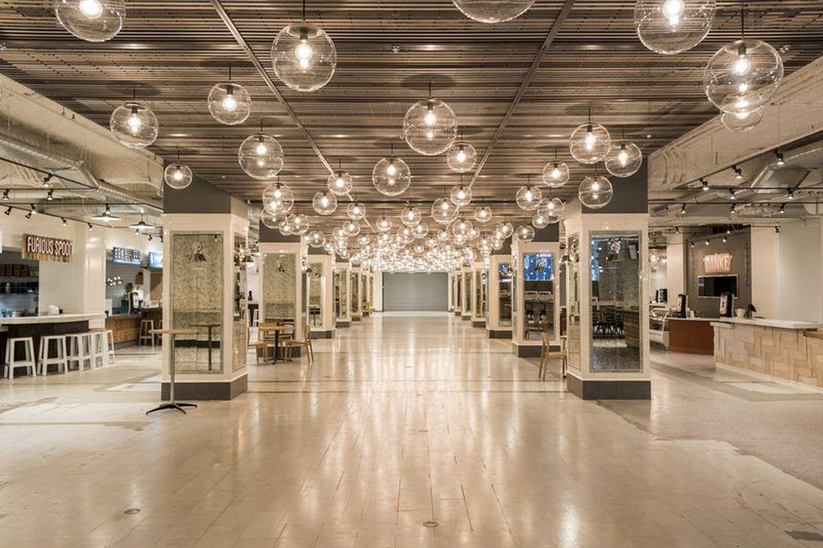 Revival Food Hall interior image