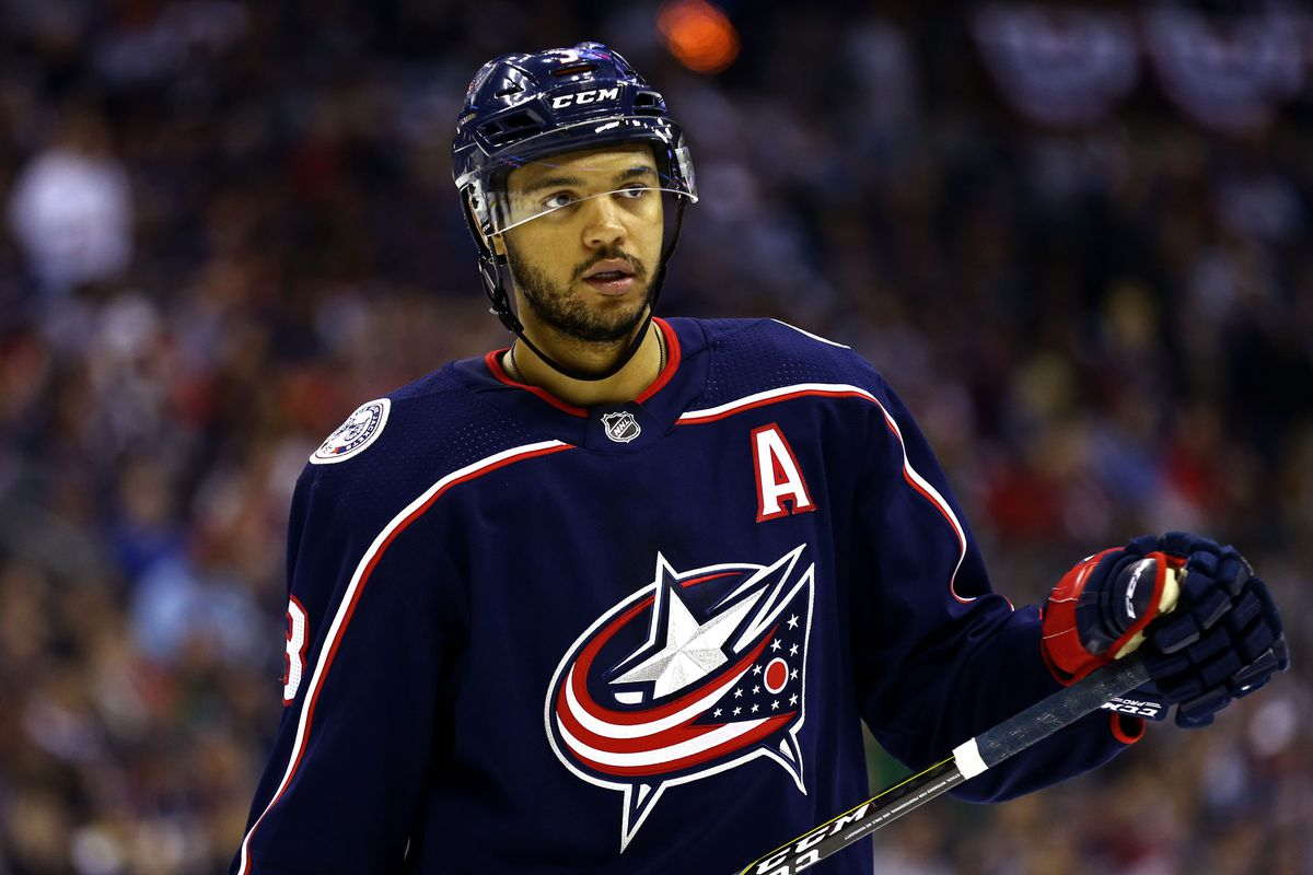 best website a4ebc e01f2 Seth Jones Out Four to Six Weeks with Knee Injury - The Cannon