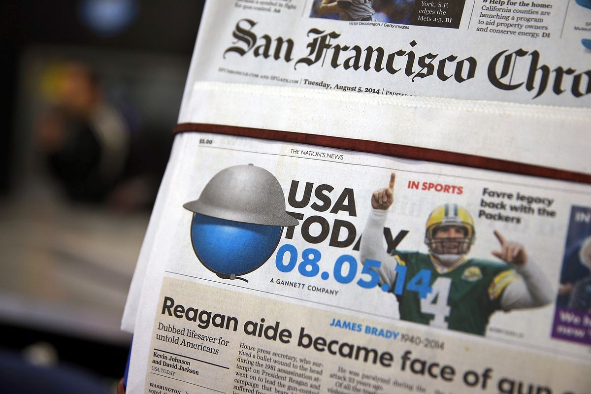 Inundated by spam Facebook accounts, USA Today has asked the FBI to
