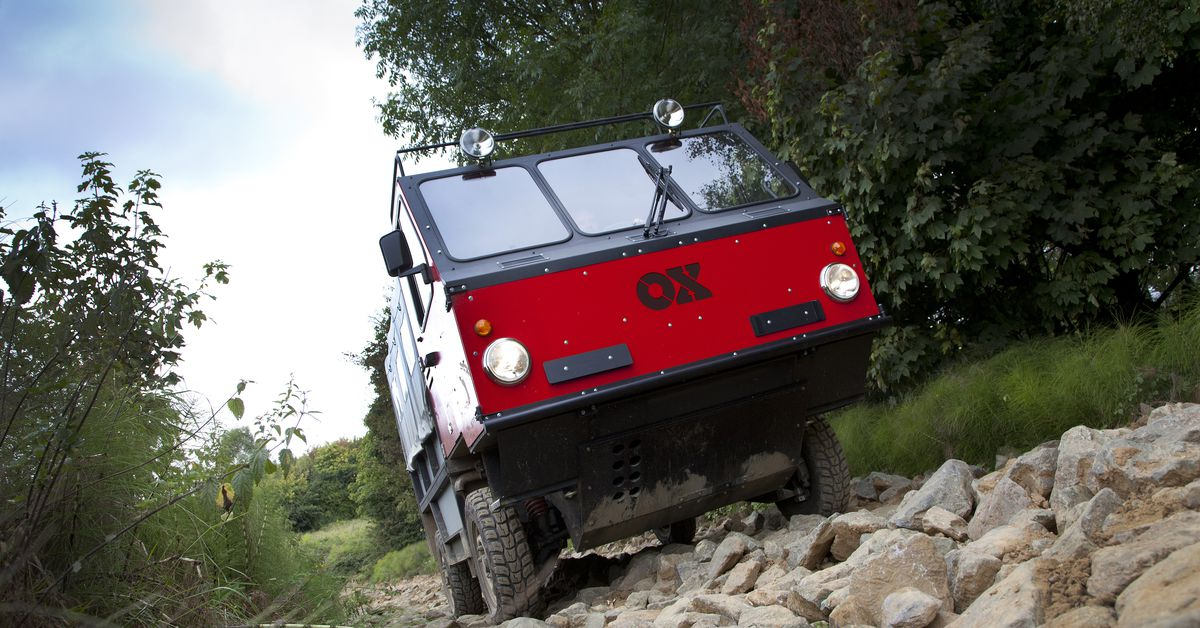 photo image Ox, the truck that can be packed flat like Ikea furniture, is headed to pre-production