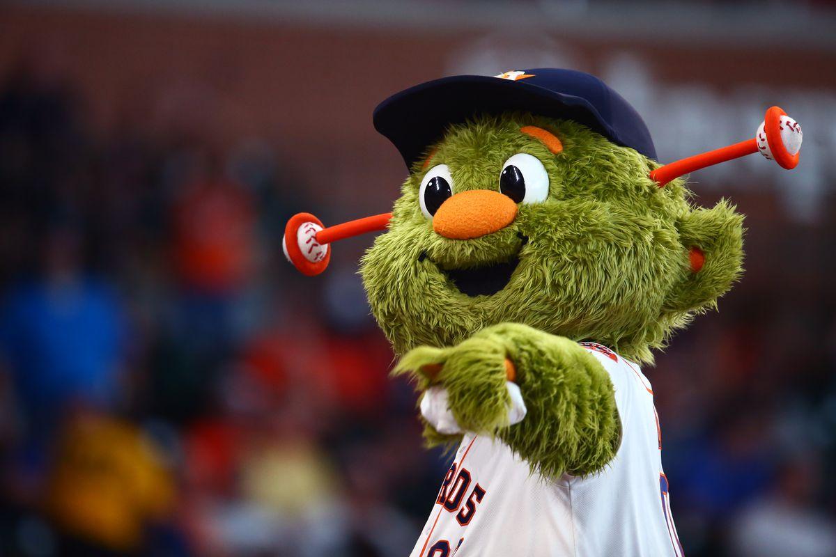 Astros Mascot >> Astros Mascot Orbit Robbed In Mascot Rankings The Crawfish