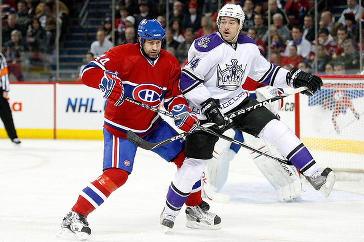 Roman Hamrlik (pictured here as a member of the Montreal Canadiens) has had a solid (if not sensational) NHL career.