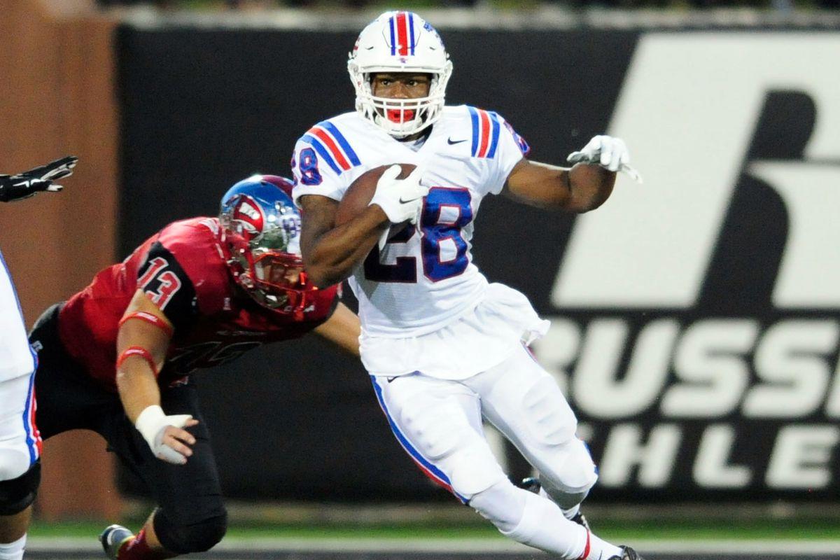 reputable site 032e7 db82a Kenneth Dixon, Louisiana Tech RB: 2016 NFL Draft Profile ...