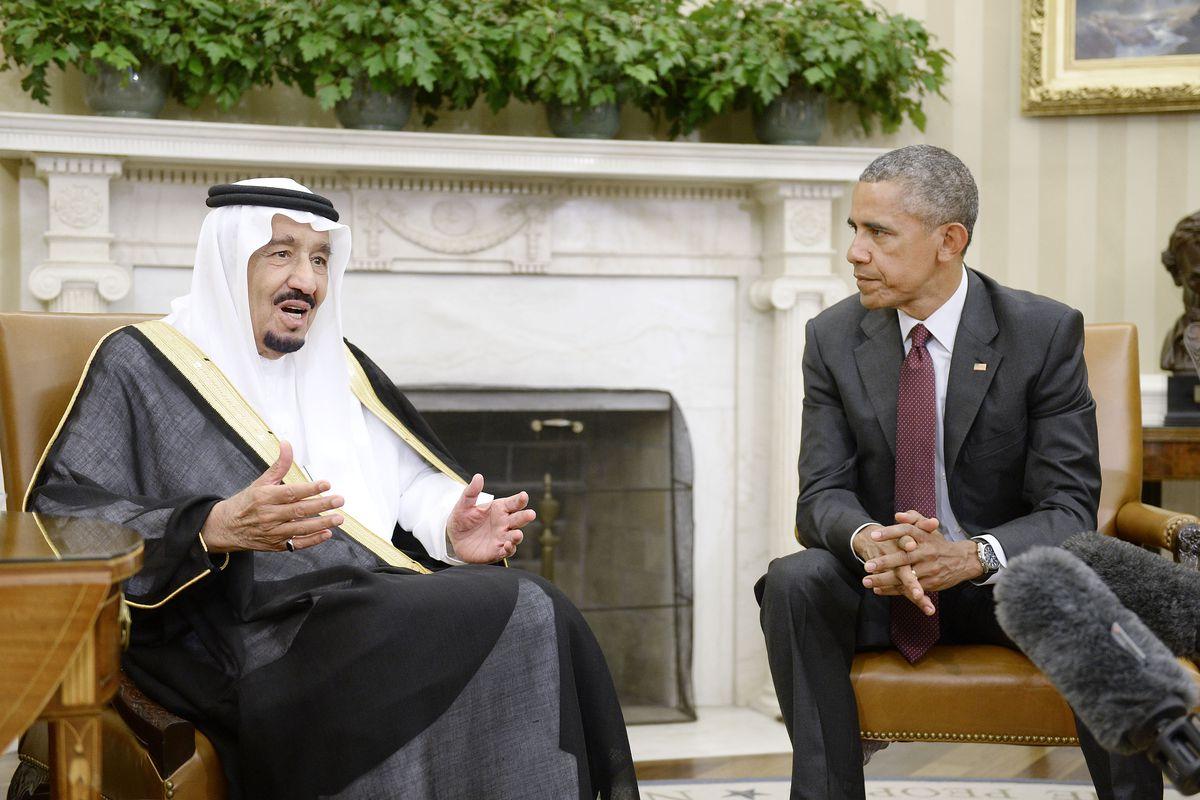 King Salman bin Abdulaziz of Saudi Arabia at the White House in September.