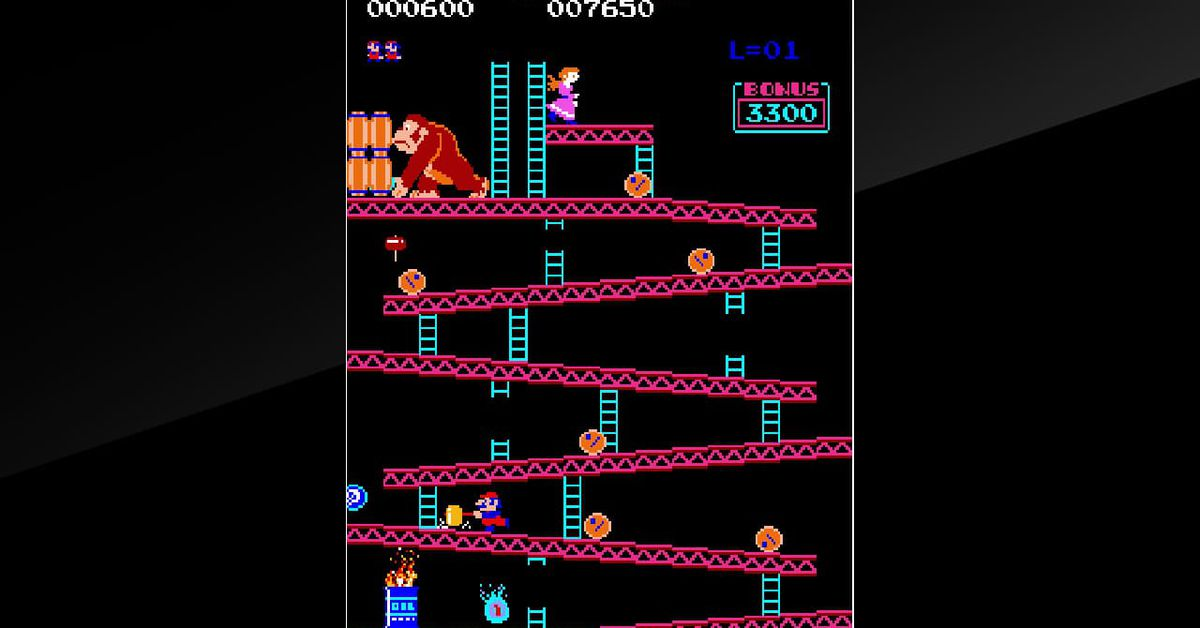 photo image Original arcade Donkey Kong comes to Nintendo Switch in first-ever re-release