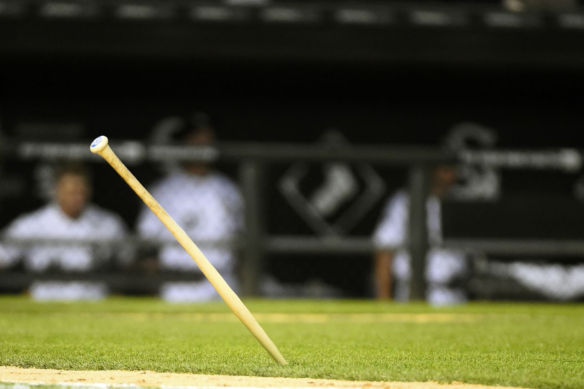 Stick a jagged bat in this series.